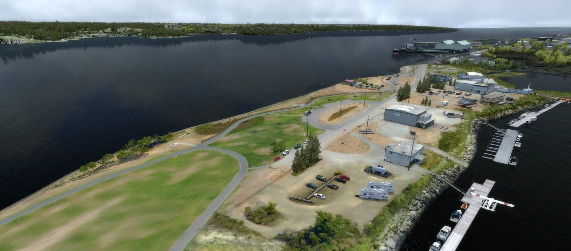 Orbx Campbell River Freeware