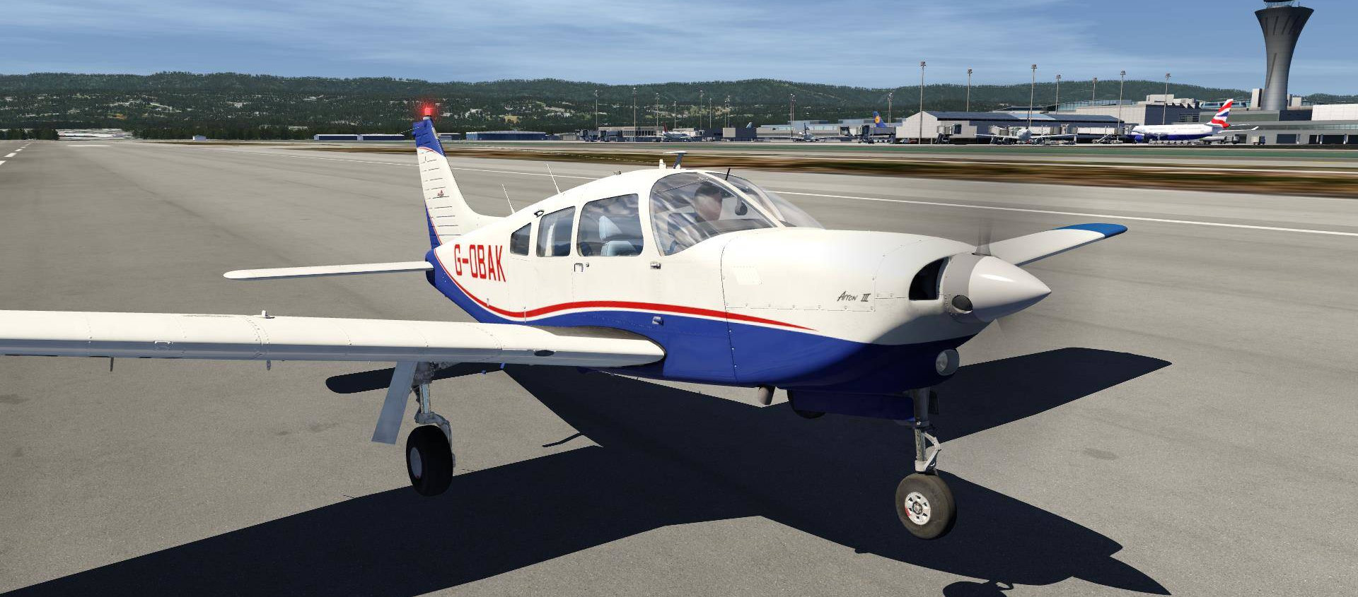 Just Flight bringt PA-28R Turbo Arrow für Aerofly FS 2