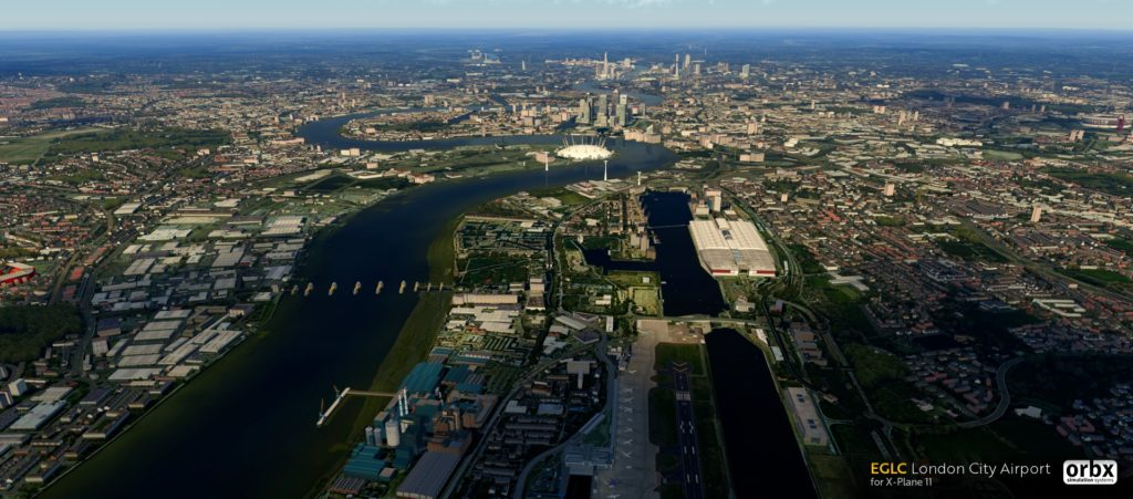 Orbx London City Airport für X-Plane 11 - Bild 2