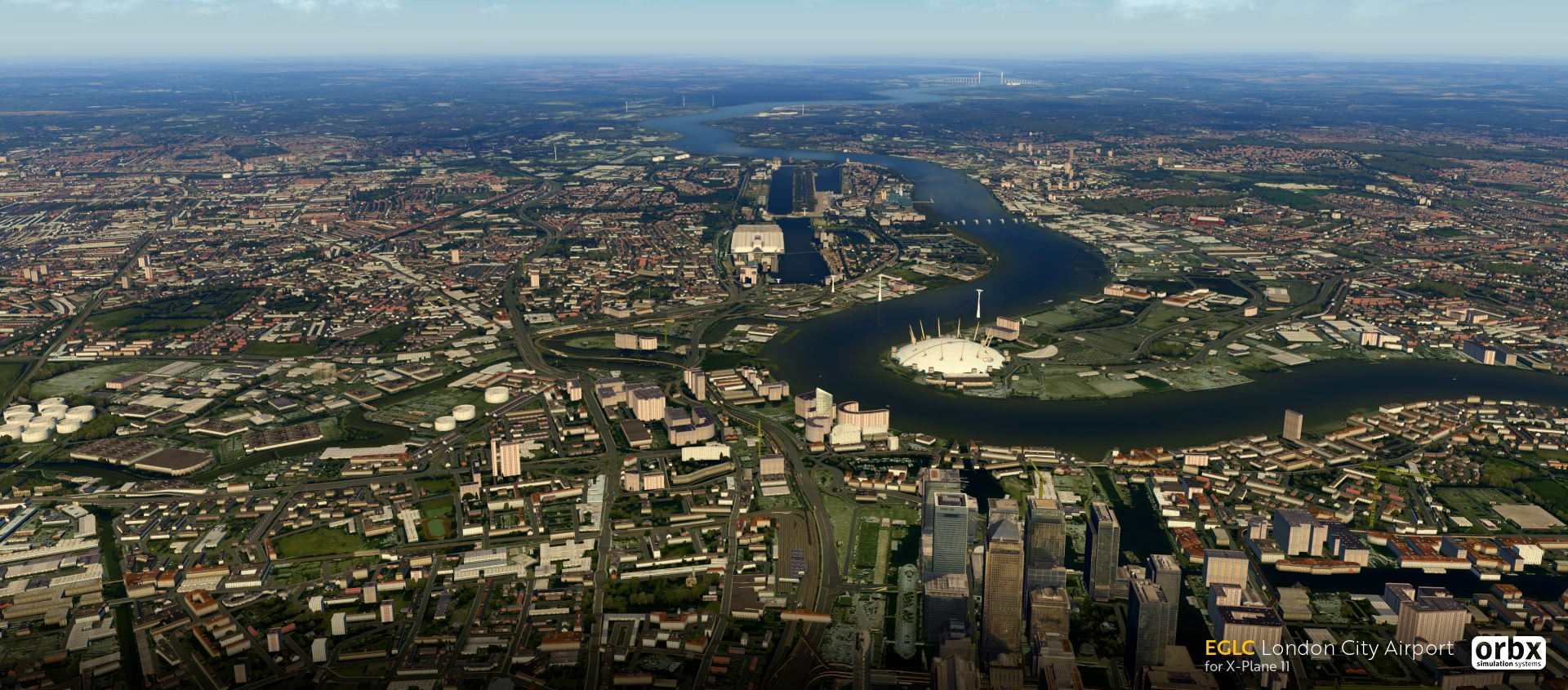 Orbx London City Airport für X-Plane 11